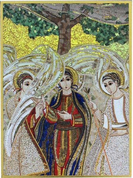 Trinity Mosaic Icon