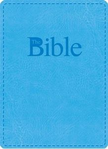 Study Bible, Reader's Edition, blue leather