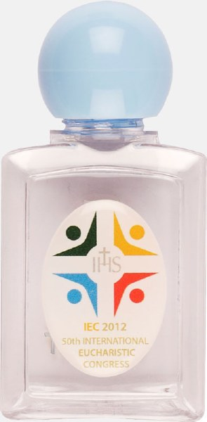 IEC holy water bottle