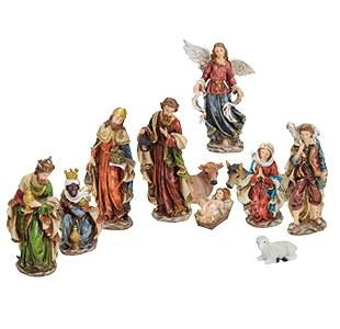 Eleven Piece Nativity Set