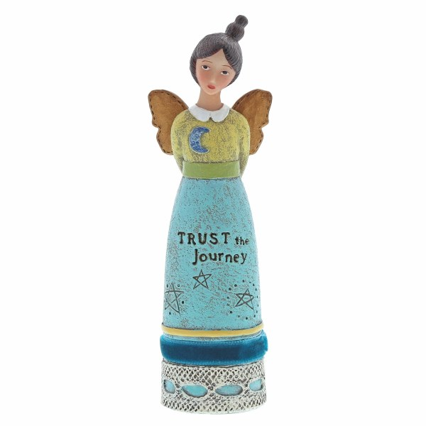 Trust The Journey Inspiration Angel