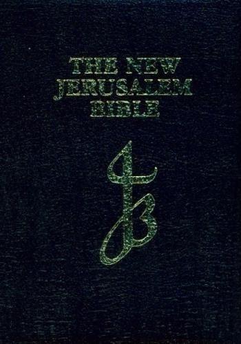 New Jerusalem Bible Black Leather