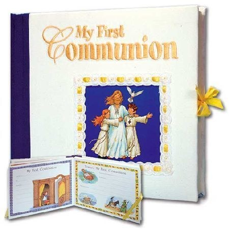 My First Communion Hardcover Album with Slipcase