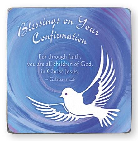 Confirmation Blessings Plaque