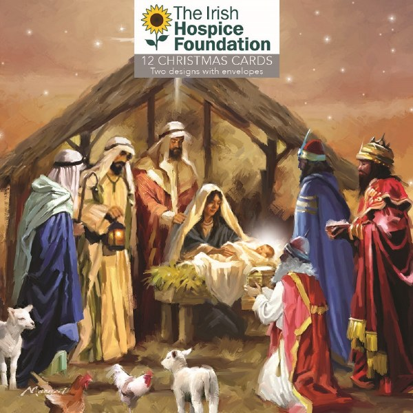 Irish Hospice Foundation Boxed Christmas Cards 12 (Assorted Designs)