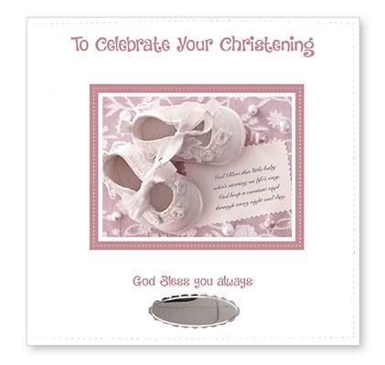 Baby Girl Christening Photo Album