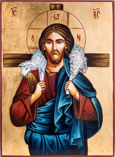 Good Shepherd Church Icon (32 x 22cm)