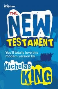 The New Testament: Teenager, blue cover