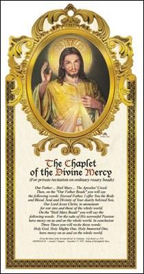 Divine Mercy Wood Plaque