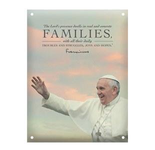 WMOF Families Metal Plaque