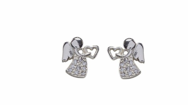 First Holy Communion Angel Earrings