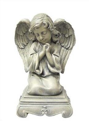 Praying Angel Grave Statue (25cm)