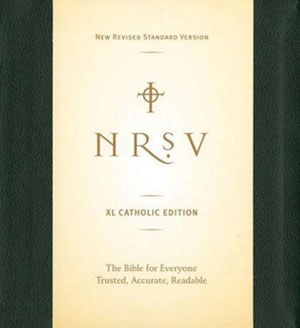 NRSV XL Large Print Leather Bible for Everyon