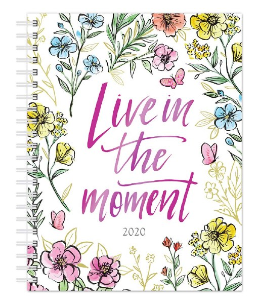 Live In The Moment Diary Planner 2020