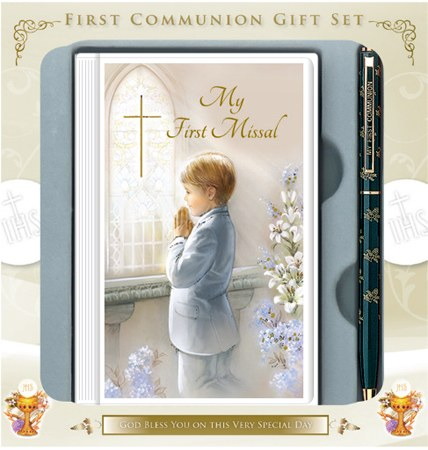 Boy First Holy Communion Gift Set -