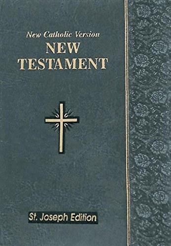 Saint Joseph NCV New Testament, Slate Grey