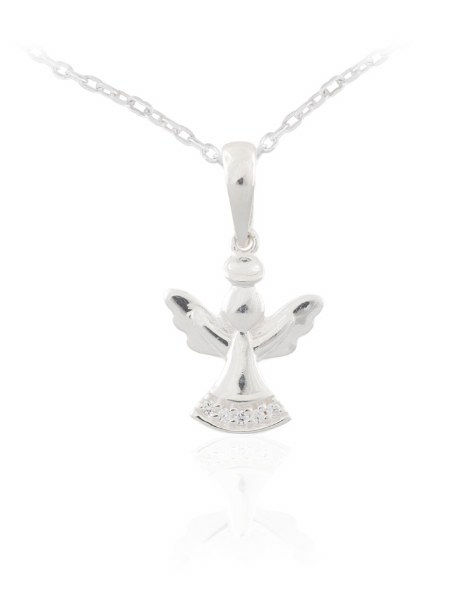 First Holy Communion Guardian Angel Necklet