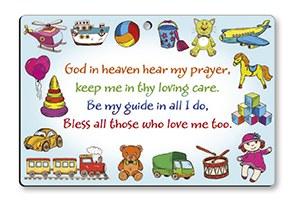 God in Heaven Hear My prayer plaque