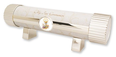 Metal First Holy Communion Certificate Holder