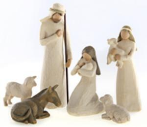Nativity with 6 figures