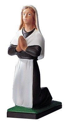 Bernadette Statue suitable for Churches or Sacred Spaces (15cm)
