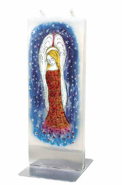 Heavenly Angel Handmade Flat candle