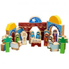 Children's Nativity Building Blocks 40 pieces