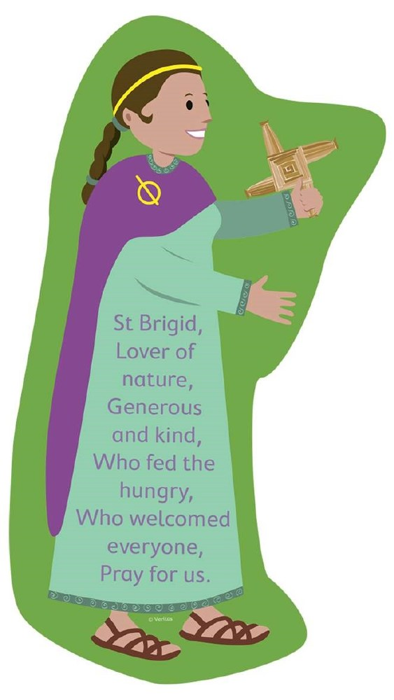 Prayer saint brigid St. Brigid