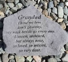 15524 Grandad Those we Love memorial Stone