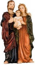 Florentine Holy Family Statue (10cm)