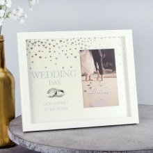Amore Wedding Frame Showered with Love