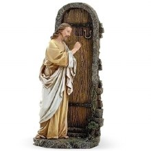 Christ Knocking On The Door Statue (28cm)