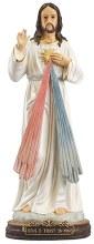48552 Divine Mercy Fibreglass statue 60cm