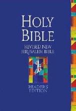 Revised New Jerusalem Bible Readers Edition Hardba