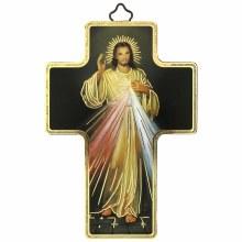 Divine Mercy Icon Cross (12 x 9cm)