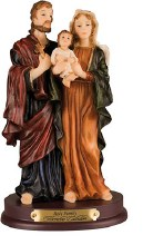 Holy Family Statue (20cm)