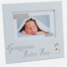 Blue Baby Boy Frame holds 6 x 4 photo