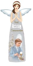 C39271 Boy First holy Communion Porcelain Angel