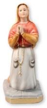 St Bernadette Plaster Statue (20cm)
