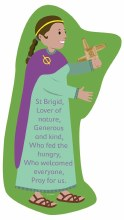 St Brigid Grow In Love Plaque 34 x 24 cm
