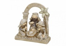 Cream One Piece Nativity Scene