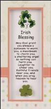 Irish Blessing Glass Plaque