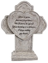 48404 Gone But Not Forgotten Grave Memorial 31cm