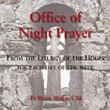 Office of Night Prayer Cd