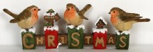 Christmas Robins Decoration (23cm)