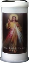Divine Mercy Pillar Candle