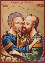 Peter and Paul Icon (44 x 32cm)