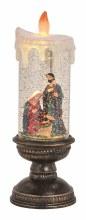 10040787 Nativity Scene LED Candle 10x 30 cm