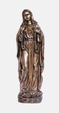 Large Immaculate Heart of Mary Bronze Statue (100cm)