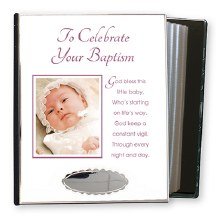 Baby Girl Baptism Photo Album